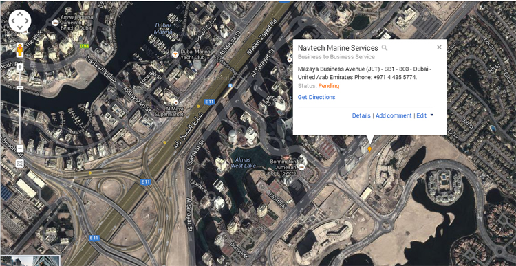 Navtech Marine Services, a Navtec Investment Group company, is